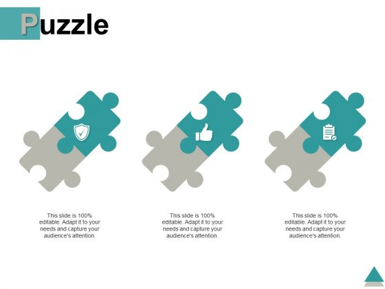 Puzzle Problem Solution Ppt PowerPoint Presentation Outline Outfit