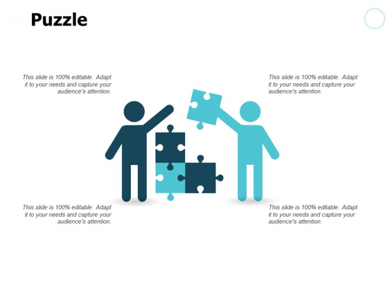 Puzzle Problem Solution Ppt PowerPoint Presentation Pictures Slide Portrait