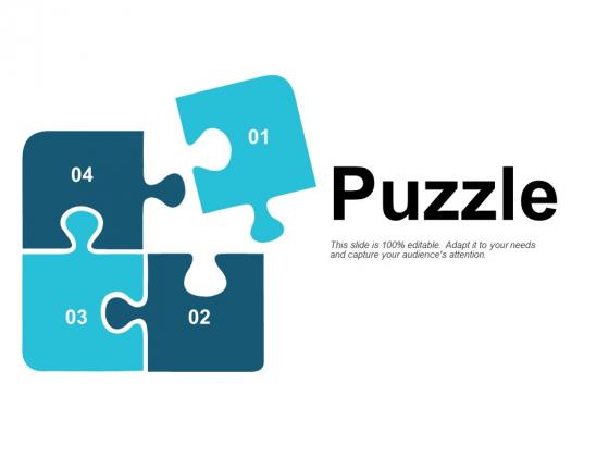 Puzzle Problem Solution Ppt PowerPoint Presentation Portfolio Visual Aids