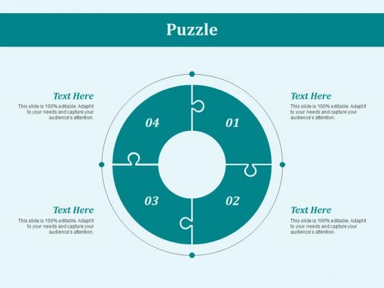 Puzzle Problem Solution Ppt PowerPoint Presentation Show Samples