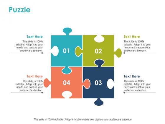 Puzzle Problem Solution Ppt PowerPoint Presentation Slides Example