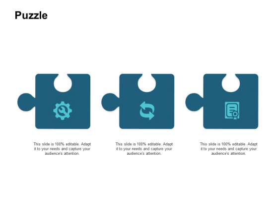 Puzzle Problem Solution Ppt PowerPoint Presentation Slides Grid
