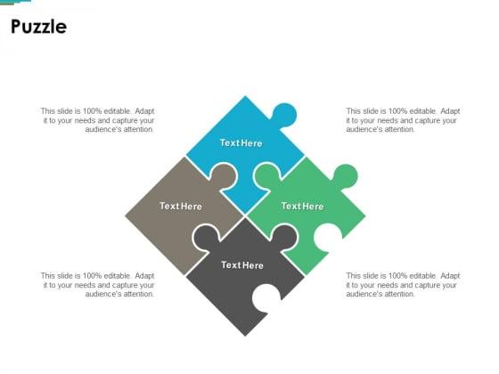 Puzzle Problem Solution Ppt PowerPoint Presentation Visual Aids Slides