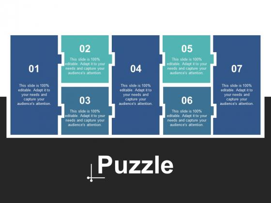 Puzzle Problem Solution Strategy Ppt PowerPoint Presentation Portfolio Visuals
