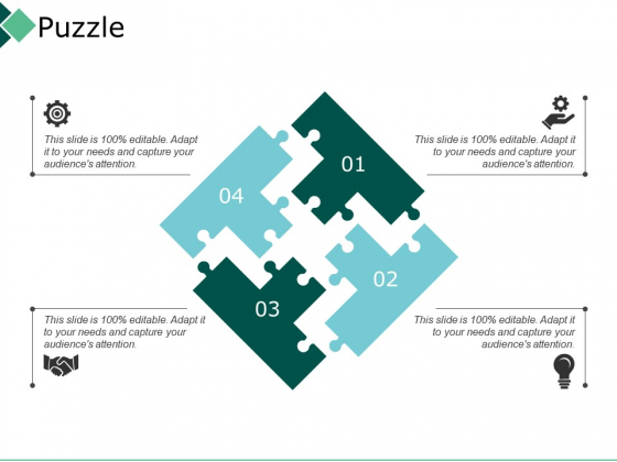 Puzzle Realty Management Ppt PowerPoint Presentation Inspiration Tips