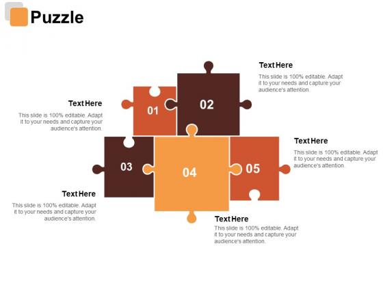 Puzzle Risk Estimator Ppt PowerPoint Presentation Infographic Template Portrait