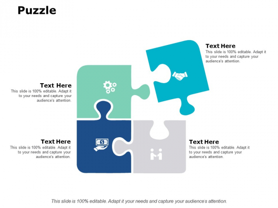 Puzzle Strategy Ppt PowerPoint Presentation Show Template