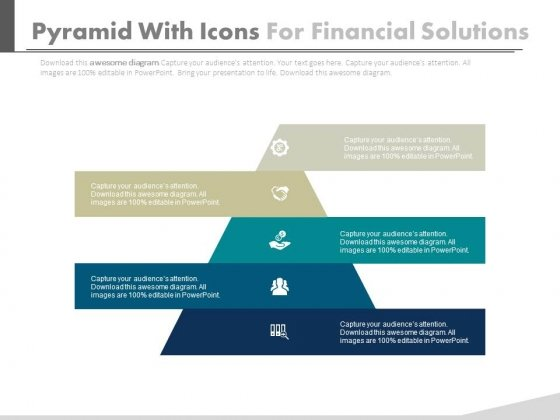 Pyramid For Financial Accounting Information Powerpoint Slides