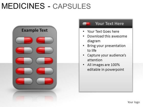 Pain Medical Capsules PowerPoint Slides And Ppt Diagram Templates