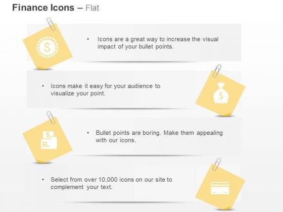 Paper Clip Dollar Folder Pouch Machine Ppt Slides Graphics