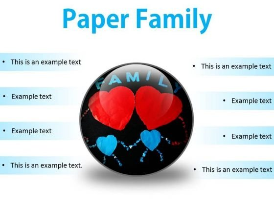Paper Family Abstract PowerPoint Presentation Slides C
