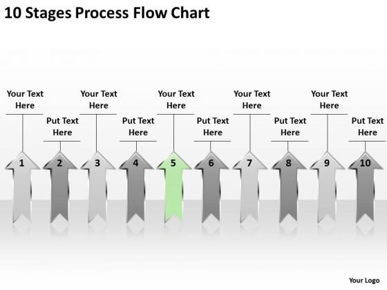 Parallel And Distributed Processing 10 Stages Flow Chart PowerPoint Slides