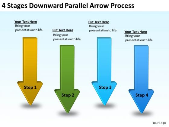 Parallel And Serial Processing Arrow PowerPoint Templates Ppt Backgrounds For Slides