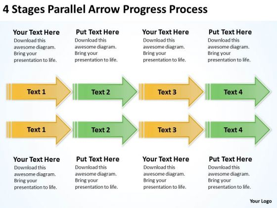 Parallel And Serial Processing Progress PowerPoint Templates Ppt Backgrounds For Slides