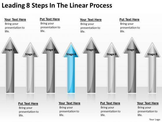 Parallel Processing Applications Leading 8 Steps The Linear PowerPoint Templates