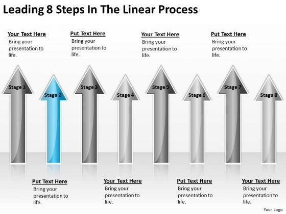 Parallel Processing Applications Leading 8 Steps The Linear Ppt PowerPoint Template