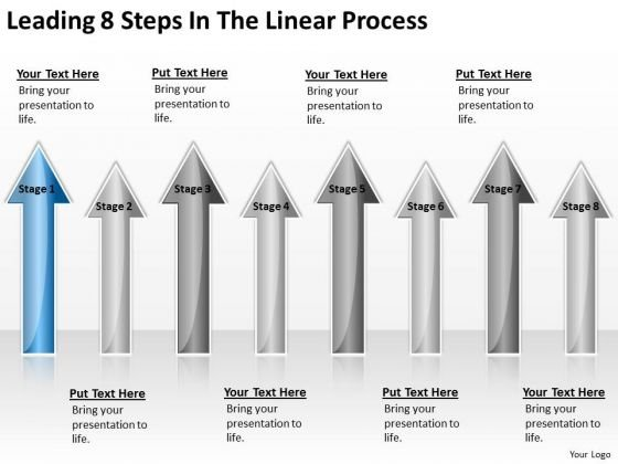 Parallel Processing Applications Leading 8 Steps The Linear Ppt PowerPoint Templates