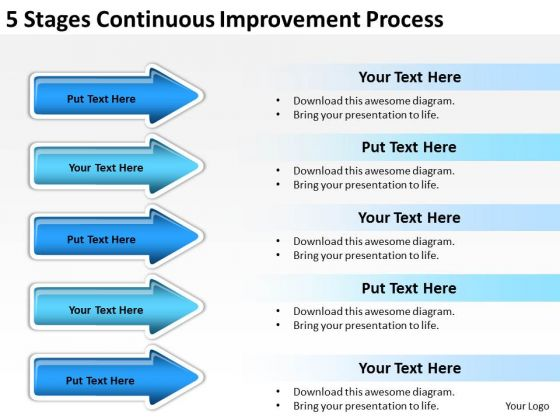 Parallel Processing Continuous Improvement PowerPoint Templates Ppt Backgrounds For Slides