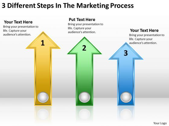 Parallel Processing Examples 3 Different Steps The Marketing PowerPoint Slides