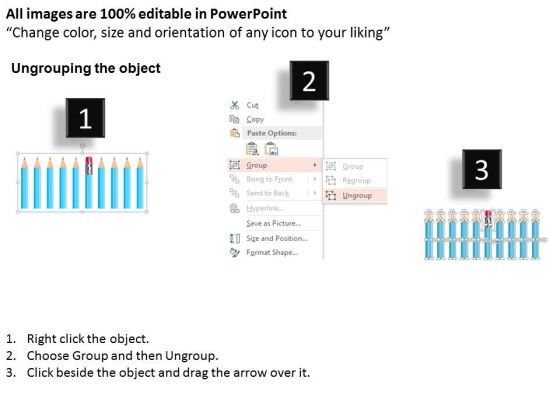 pencils_for_knowledge_management_strategy_powerpoint_template_2