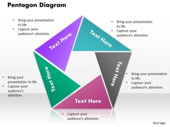 Pentagon Diagram PowerPoint Presentation Template