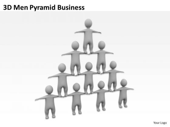 people_business_3d_men_pyramid_powerpoint_slides_2