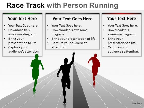 People Race Person Running PowerPoint Slides And Ppt Diagram Templates