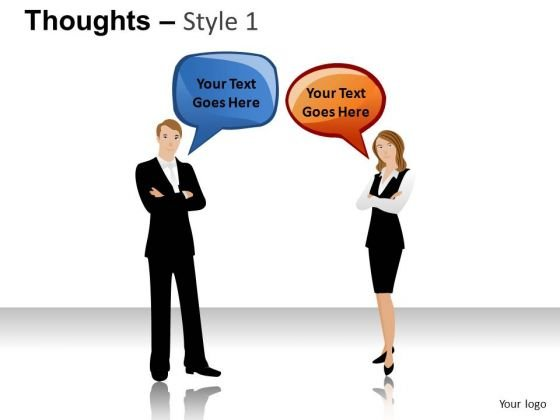 People Speaking Callouts Text PowerPoint Slides And Ppt Diagram Templates