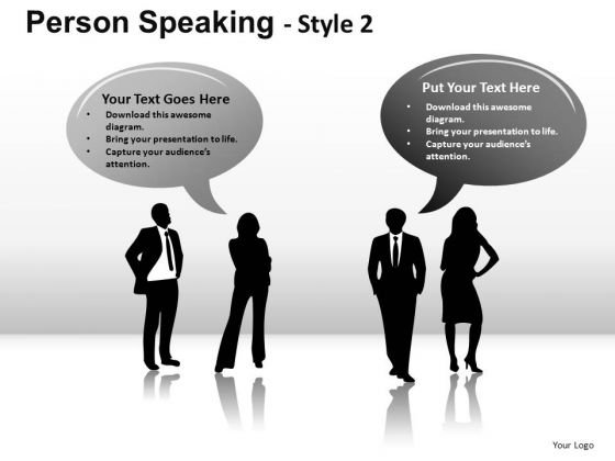 People Speaking Text Boxes PowerPoint Slides And Ppt Diagram Templates