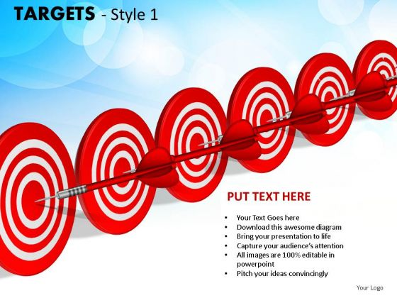 People Targets 1 PowerPoint Slides And Ppt Diagram Templates