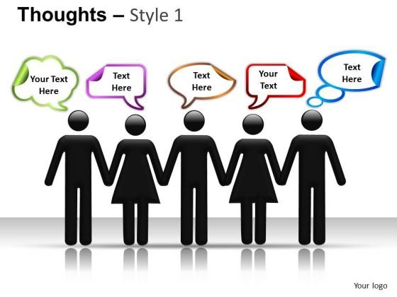 People Thoughts PowerPoint Slides And Ppt Templates
