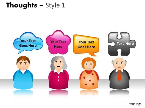 People With Text Boxes PowerPoint Slides And Ppt Diagram Templates