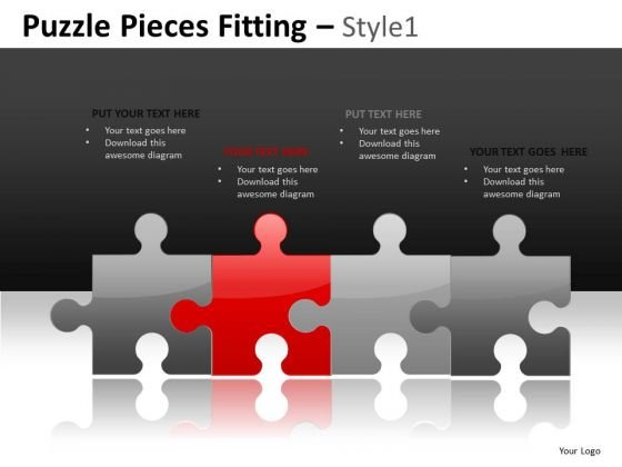 Perfect Management Team Puzzles PowerPoint Slides And Ppt Templates