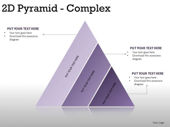 Performance 2d Pyramid Complex PowerPoint Slides And Ppt Diagram Templates