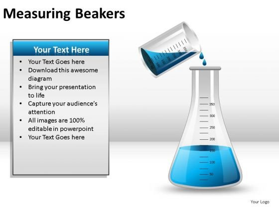 Person Measuring Beakers PowerPoint Slides And Ppt Diagram Templates