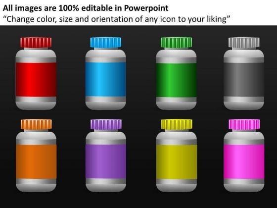 Pharmacy Bottles PowerPoint Templates Pharmacy Ppt Slides