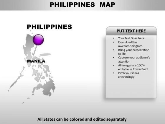 Philippines Country PowerPoint Maps - PowerPoint Templates on philippines country information, philippines world map, philippines campaign map, philippines islands, philippines on map, philippines road map, philippines country outline, philippines ocean map, philippines physical features map, philippines country profile, philippines street map, philippines country code, philippines new zealand map, philippines country flag, philippines political map, philippines language map, philippines beaches, san jose antique philippines map, philippines division map, philippines landform map,