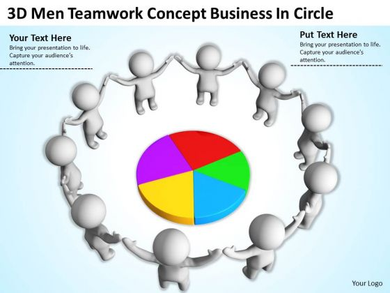 Pictures Of Business Men Concept PowerPoint Presentation Circle Slides