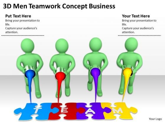 Pictures Of Business Men Teamwork Concept PowerPoint Presentation Slides
