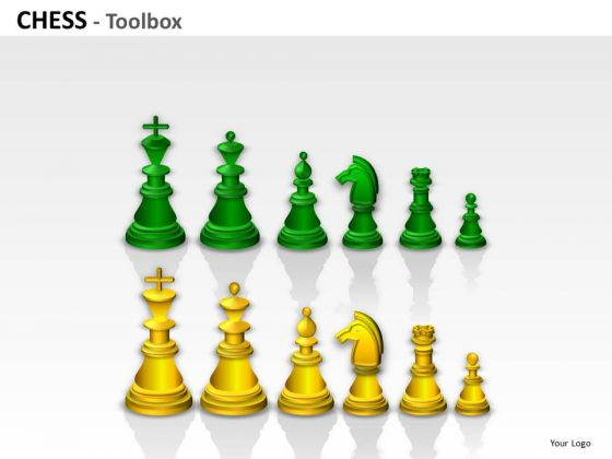 Pieces Chess Toolbox PowerPoint Slides And Ppt Diagram Templates