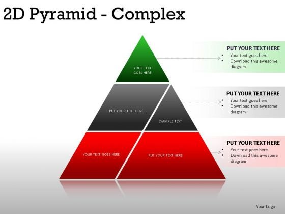 Planner 2d Pyramid Complex PowerPoint Slides And Ppt Diagram Templates
