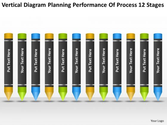 Planning Performance Of Process 12 Stages Ppt Business Format PowerPoint Templates
