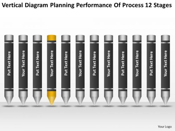 Planning Performance Of Process 12 Stages Ppt Sample Business Plans Free PowerPoint Slides