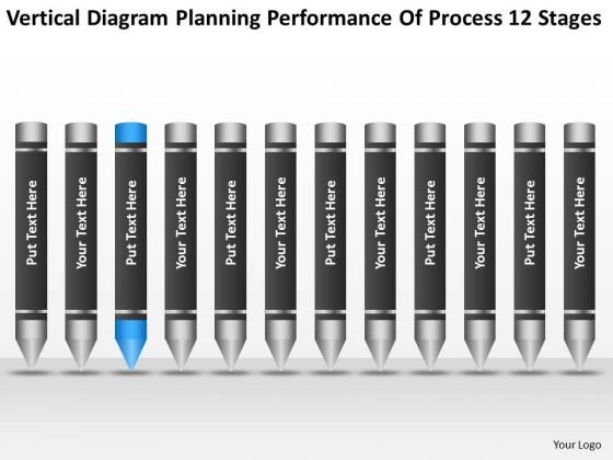 Planning Performance Of Process 12 Stages Ppt Sample Business Plans PowerPoint Slides