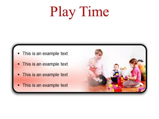 Play Time Game PowerPoint Presentation Slides R