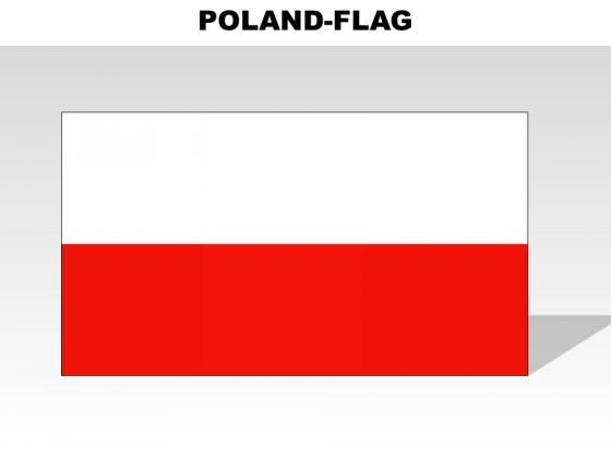 Poland Country PowerPoint Flags