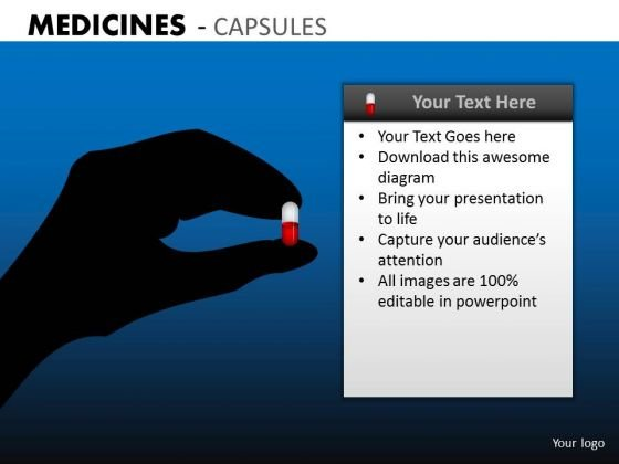 Pop A Pill Medicines PowerPoint Slides And Templates