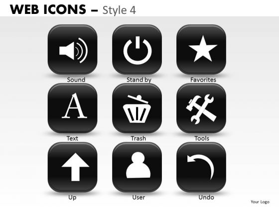 Popular Web Icons PowerPoint Slides And Ppt Diagram Templates