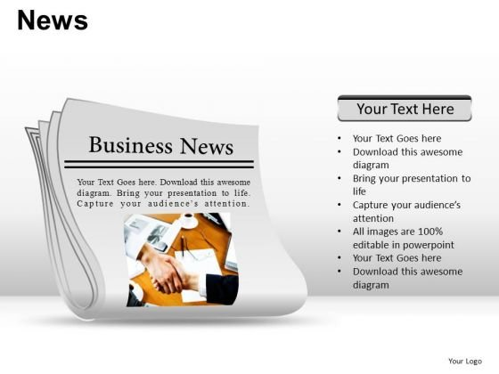 Post News PowerPoint Slides And Ppt Diagram Templates