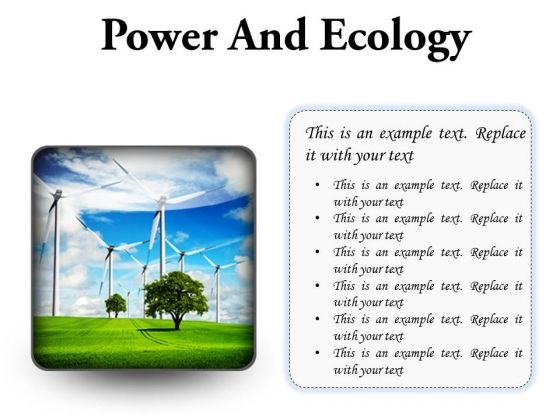 Power And Ecology Nature PowerPoint Presentation Slides S